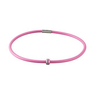 Magnetický náhrdelník inSPORTline Mely růžová - 45 cm