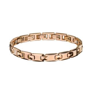 Magnetický náramek inSPORTline Stafira růžové zlato