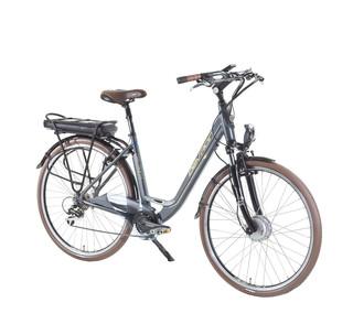 """Městské elektrokolo Devron 28126 - model 2015 Silver - 19"""" - Záruka 10 let"""