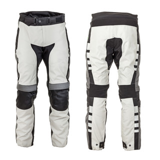 Moto kalhoty W-TEC Avontur šedo-černá - XL