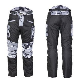 Pánské moto kalhoty W-TEC Kaamuf Black Camo - 4XL