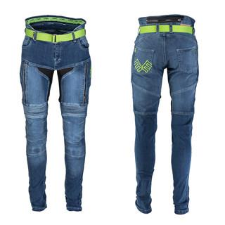 Dámské moto jeansy W-TEC Ekscita modrá - 40