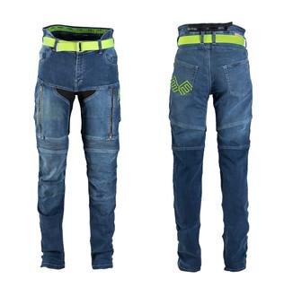 Pánské moto jeansy W-TEC Grandus modrá - 38/36