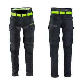 Pánské moto jeansy W-TEC Aredator černá - 44/32