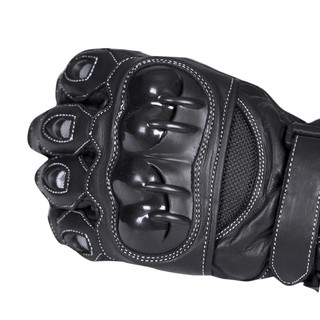 Motocyklové rukavice W-TEC Supreme TWG-171 - černá