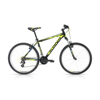 "Horské kolo ALPINA ECO M20 black-lime 26"" - model 2016"