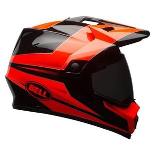 Motokrosová přilba BELL MX-9 Adventure MIPS Stryker Flo Orange-Black - XL (61-62) - Záruka 5 let