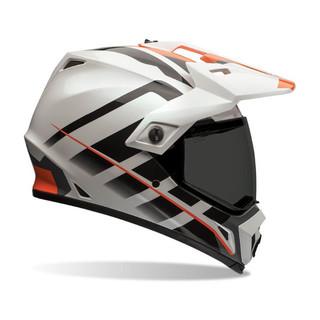 Motokrosová přilba BELL MX-9 Adventure Raid Orange/White - XXL (63-64) - Záruka 5 let
