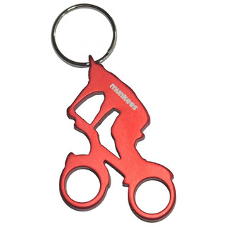 Otvírák lahví Munkees Biker červená