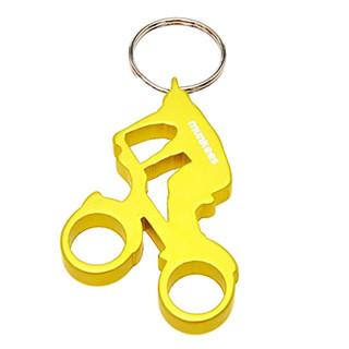Otvírák lahví Munkees Biker žlutá