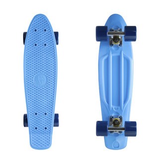 "Penny board Fish Classic 22"" Blue-Silver-Navy"