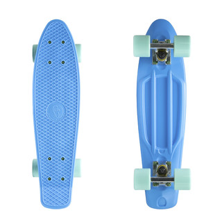 "Penny board Fish Classic 22"" Blue-Silver-Summer Green"