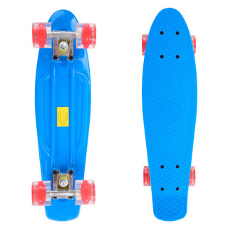 Penny board Maronad Retro se svítícími kolečky modrá