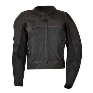 Kožená bunda Ozone Focus II černá - L