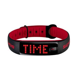 Fitness náramek Sigma Activo černo-červená