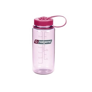 Outdoorová láhev NALGENE Wide Mouth 500 ml - Clear Pink 16 WM