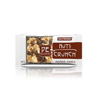 Tyčinka Nutrend 35g DeNuts Crunch pražený lískový ořech
