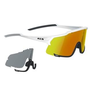 Cyklistické brýle Kellys Dice Photochromic White