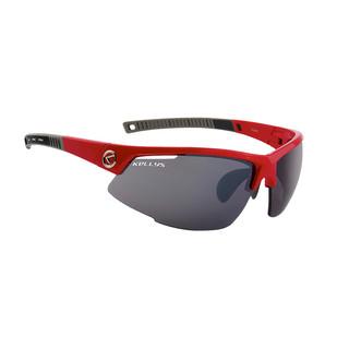 Cyklistické brýle KELLYS Force Shiny Red, červená s tmavými skly