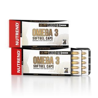 Rybí olej Nutrend Omega 3 Softgel Caps 120 kapslí