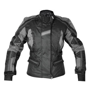 Dámská textilní bunda Rebelhorn GLAM černo-šedá - L