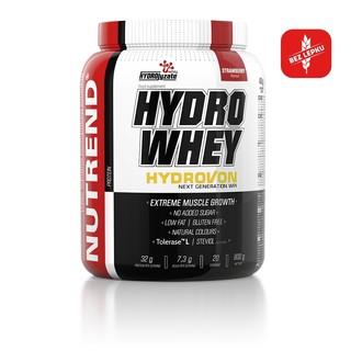 Izolát nativní syrovátkové bílkoviny Nutrend Hydro Whey 800g čokoláda