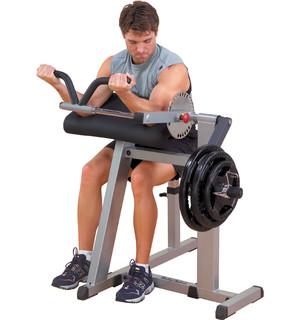 Posilovací lavice na biceps a triceps Body Solid GCBT380 - Záruka 10 let + Servis u zákazníka