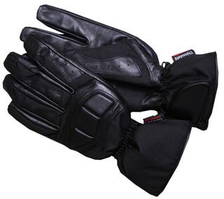 Moto rukavice WORKER Fast černá - 4XL