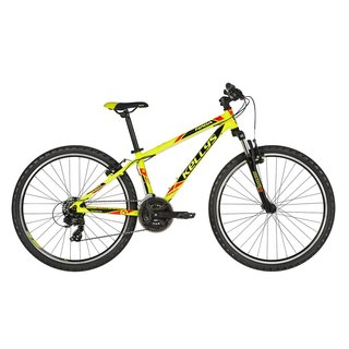 "Juniorské kolo KELLYS NAGA 70 26"" - model 2019 - Neon Lime"