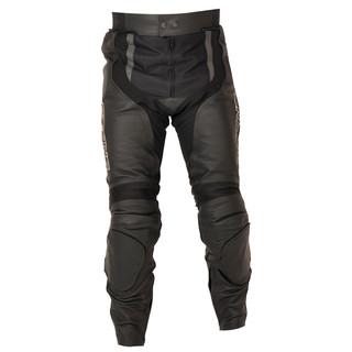 Kožené kalhoty Ozone Evotec černá - XL