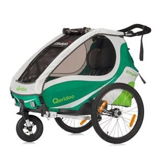 Multifunkční dětský vozík Qeridoo KidGoo 1 zelená