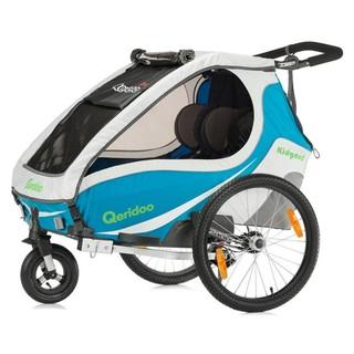 Multifunkční dětský vozík Qeridoo KidGoo 2 modrá