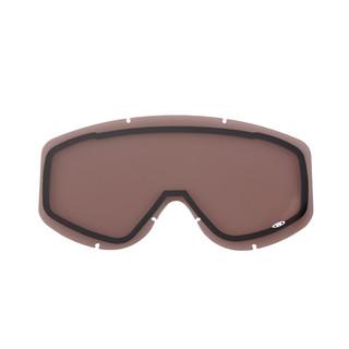 Náhradní sklo k brýlím WORKER Hiro zrcadlově kouřové