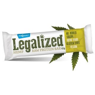 Proteinová tyčinka MAX SPORT Legalized Bar 42g Konopí