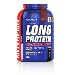 Práškový koncentrát Nutrend Long Protein s BCAA 2200g vanilka