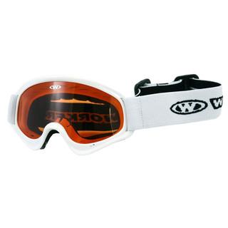 Dětské lyžařské brýle WORKER Sterling WHT-bílá
