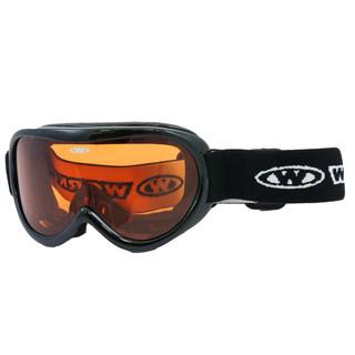 Dětské lyžařské brýle WORKER Miller BLK-černá