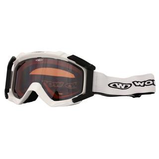 Lyžařské brýle WORKER Simon bílá