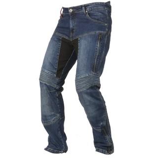 Pánské moto jeansy Ayrton 505 modrá - 36/32