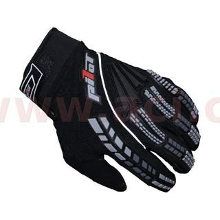 Dětské motokrosové rukavice Pilot černá - 6