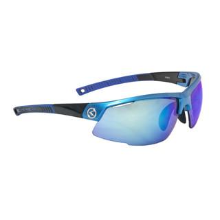Cyklistické brýle KELLYS Force Sky Blue, modrá s duhovými modrými skly