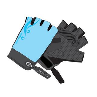 Dámské cyklo rukavice KELLYS SUNNY SHORT modrá - L
