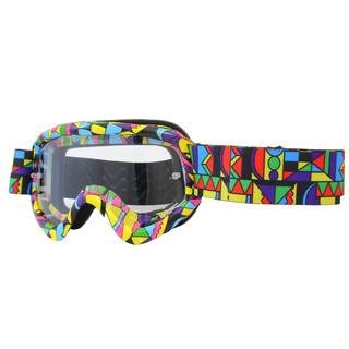 Motokrosové brýle junior W-TEC Benford s grafikou barevná grafika