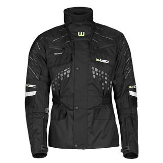 Moto bunda W-TEC Astar černá - M