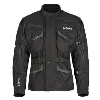 Moto bunda W-TEC Nerva černá - 5XL