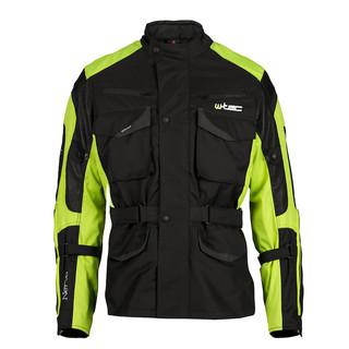 Moto bunda W-TEC Nerva zelená - 5XL