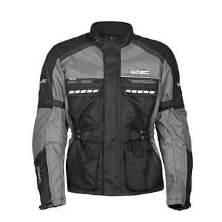Moto bunda W-TEC Cronus černo-šedá - L