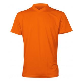 Pánské sportovní tričko s krátkým rukávem Newline Base Cool Tee oranžová - S