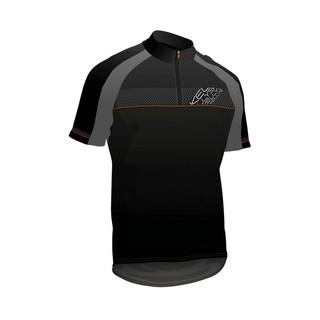 Cyklistický dres KELLYS PRO SPORT černo-oranžová - XL