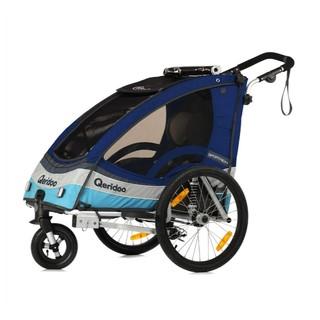Multifunkční dětský vozík Qeridoo Sportrex 1 modrá